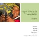 Catalyze Micro-Forestry Value Chain in Kenya - Image