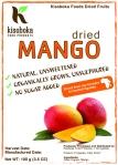 Label - Kisoboka Foods Dried Mango vFinal
