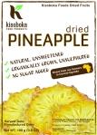 Label - Kisoboka Foods Dried Pineapple vFinal